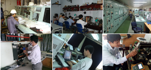 Repair and maintenance ship's radio, navigation & automation equipments